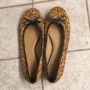 Banana Republic cheetah print flats